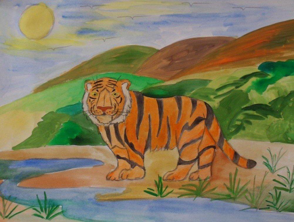 Картинки рисовать на тему животные