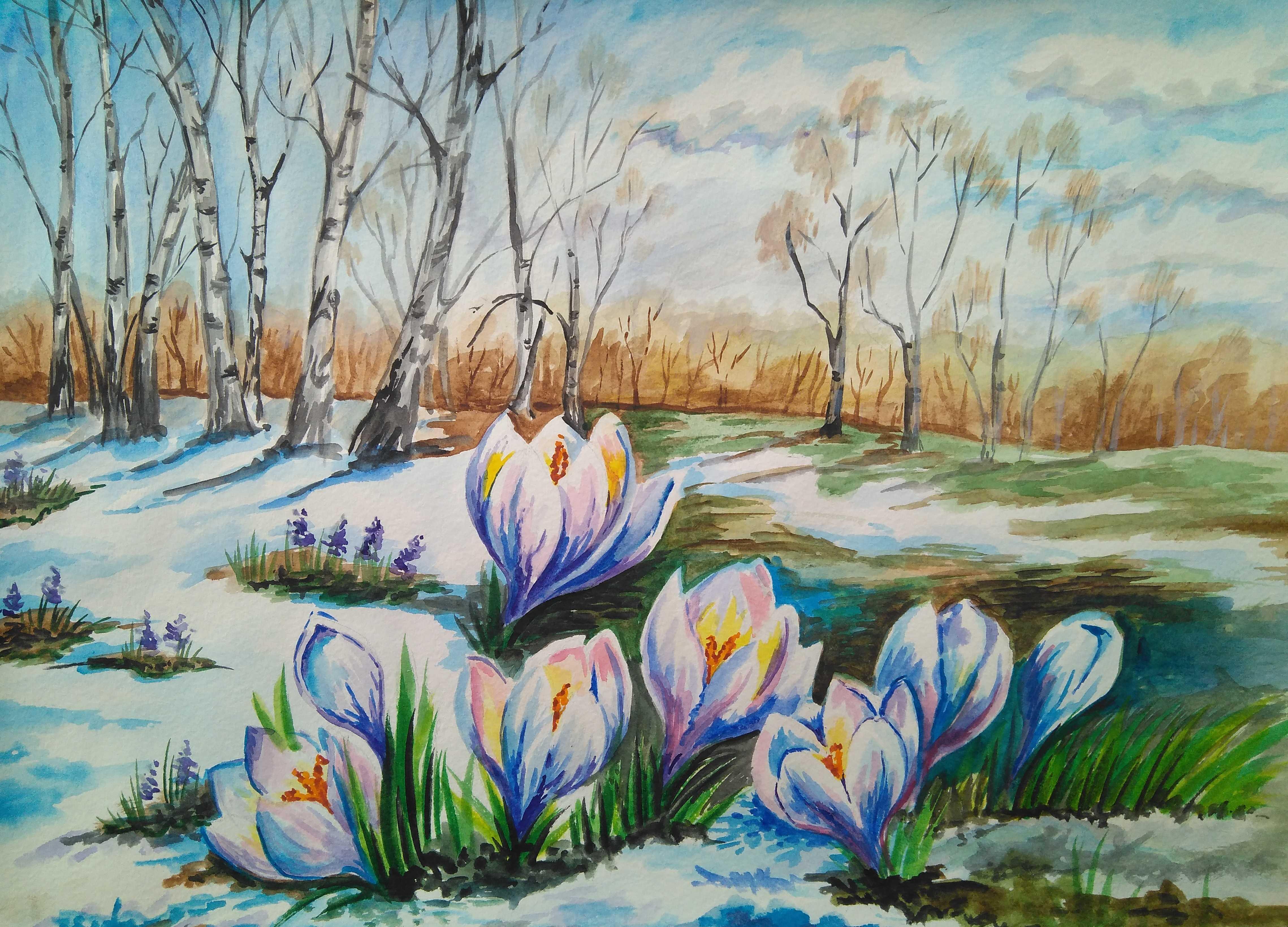 Природа дышит весной!